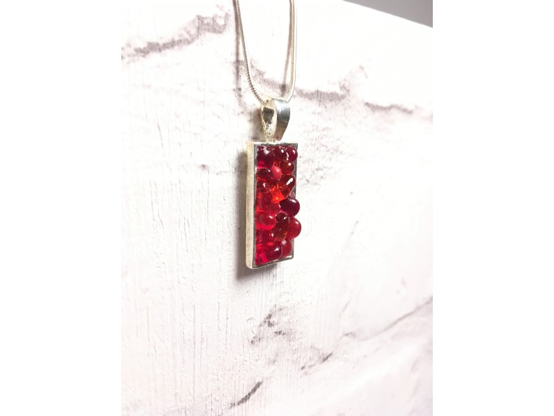 Small Red Pendant