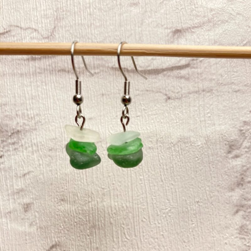 3-stack-seaglass-earring