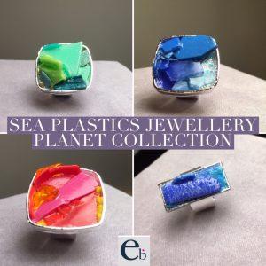 Sea Plastics Jewellery Planet Collection